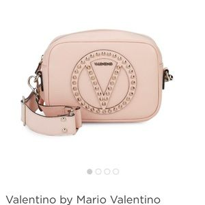 Valentino Dust Pink Leather Bag NWT